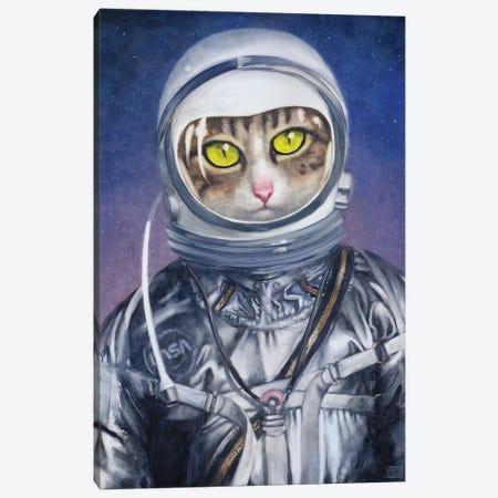 The Astronaut Canvas Print #ASD17} by Adam S. Doyle Canvas Art