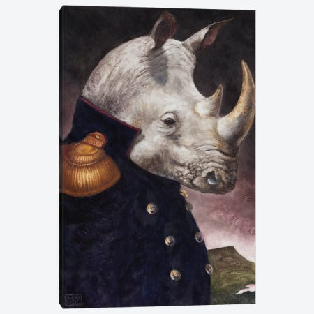 The General Canvas Print #ASD18} by Adam S. Doyle Canvas Art Print