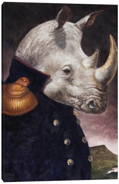 The General Canvas Art Print