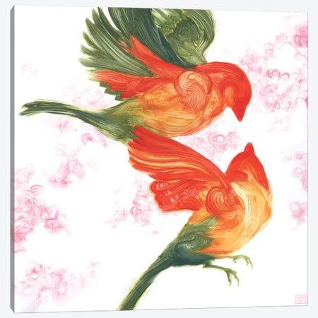 Birds Of Paradise Canvas Print #ASD6} by Adam S. Doyle Canvas Art