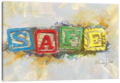 Safe Canvas Art Print