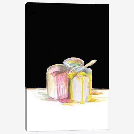 More Paint Canvas Print #ASG3} by Alan Segal Canvas Art