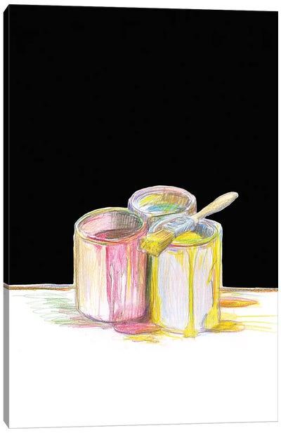 More Paint Canvas Art Print