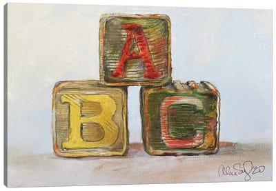ABC Canvas Art Print