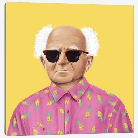 David Ben Gurion Canvas Print #ASI11} by Amit Shimoni Canvas Artwork