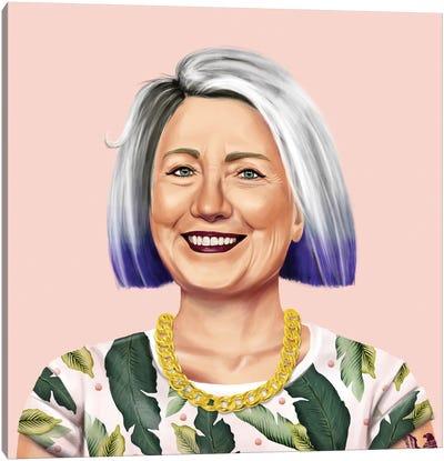 Hillary Clinton Canvas Art Print