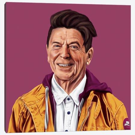 Ronald Reagan Canvas Print #ASI17} by Amit Shimoni Canvas Art Print
