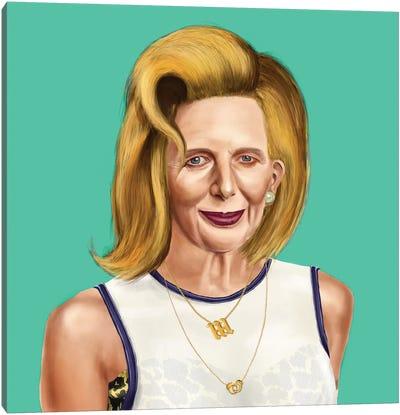 Margaret Thatcher Canvas Art Print