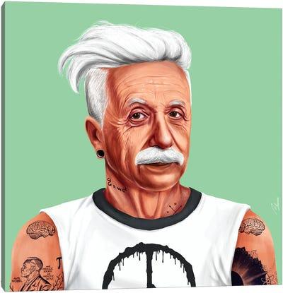 Einstein Canvas Print #ASI25