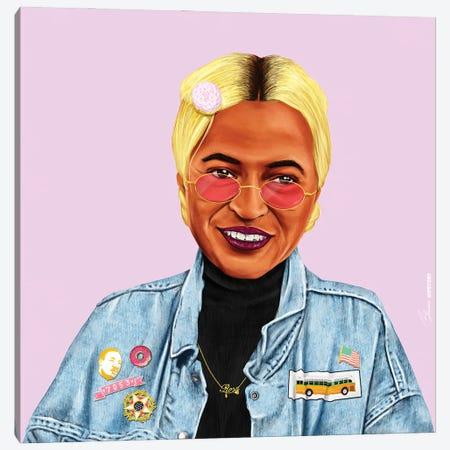 Rosa Parks Canvas Print #ASI32} by Amit Shimoni Canvas Artwork