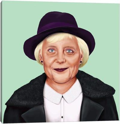 Angela Merkel Canvas Art Print
