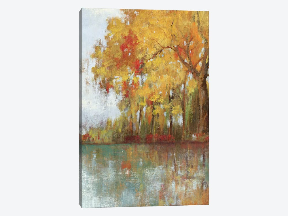Forest Reflection I by Asia Jensen 1-piece Canvas Artwork