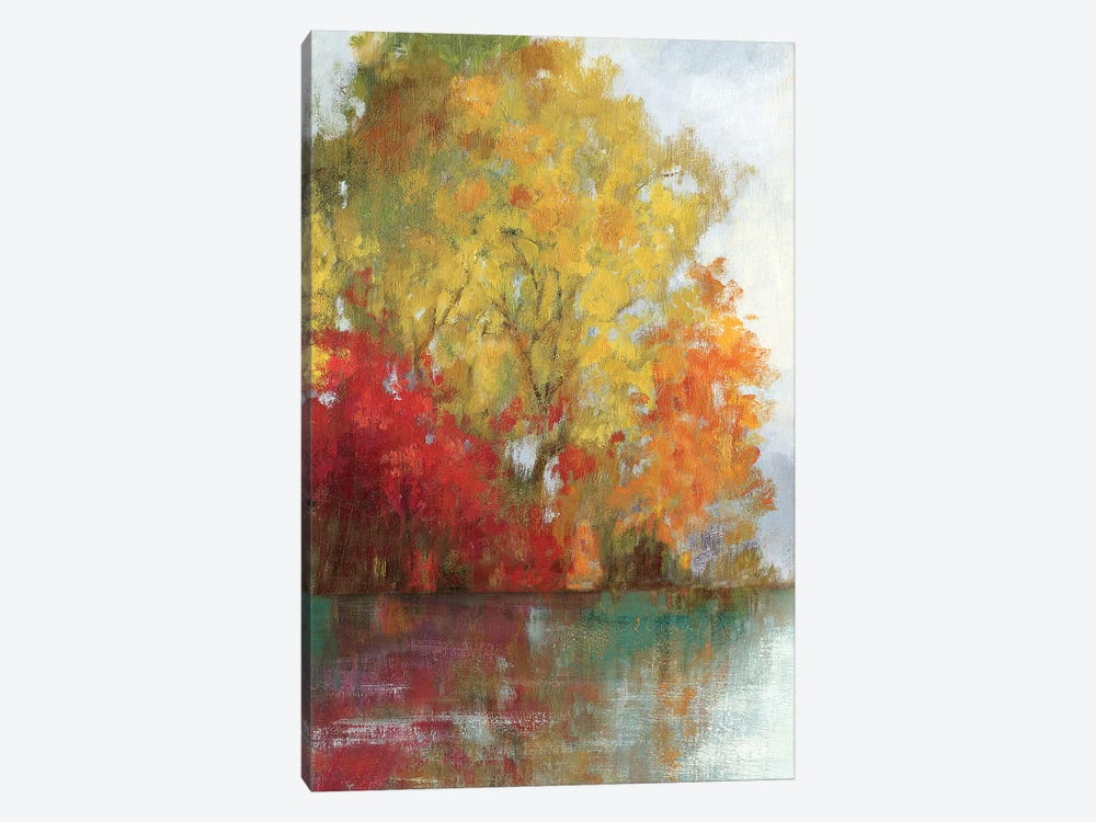 Forest Reflection II by Asia Jensen 1-piece Canvas Print