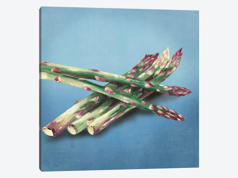 Asparagus by Asia Jensen 1-piece Canvas Art Print