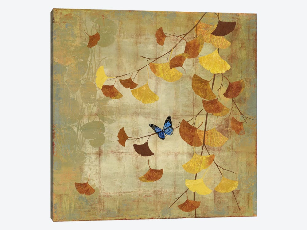 Ginkgo Branch II by Asia Jensen 1-piece Canvas Artwork