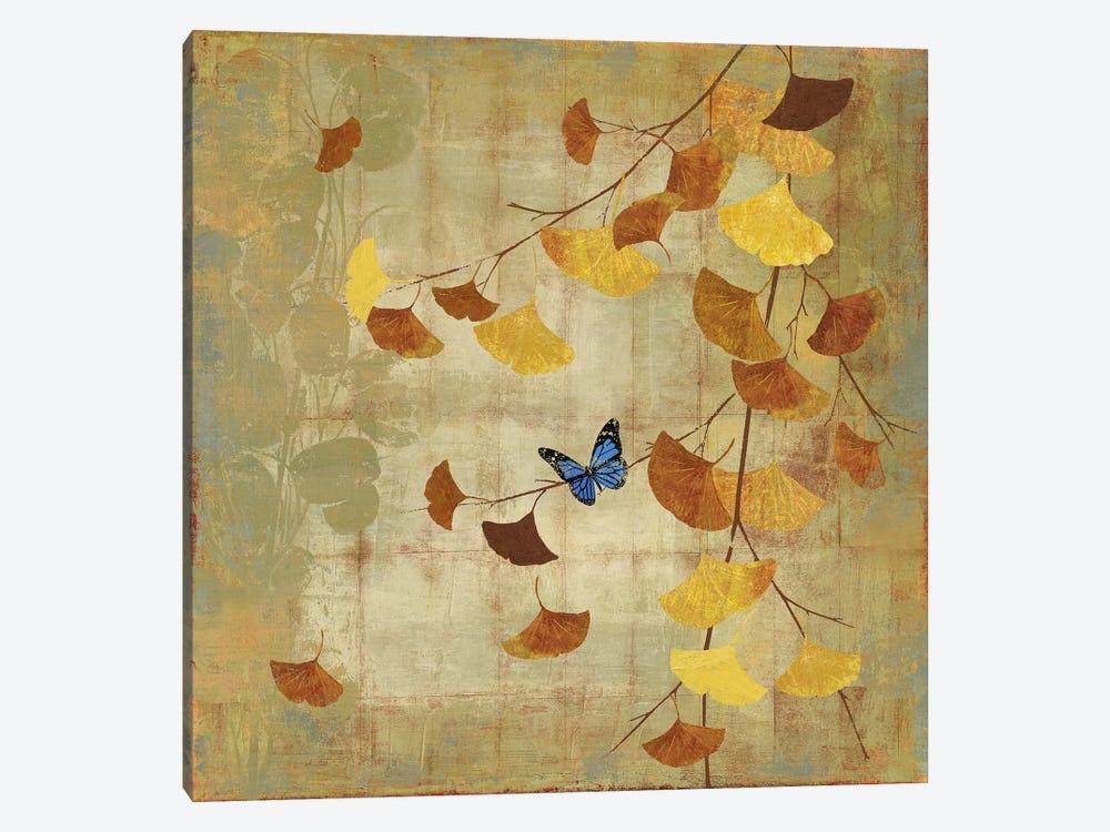 Ginkgo Branch II by Asia Jensen 1-piece Canvas Artwork