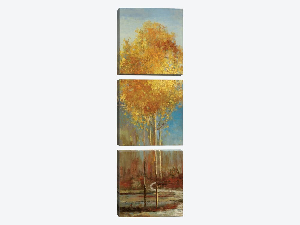 Ginkgo Tree I by Asia Jensen 3-piece Art Print