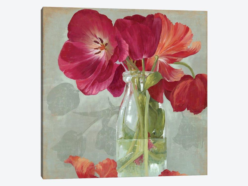 Glass Flowers II by Asia Jensen 1-piece Canvas Wall Art
