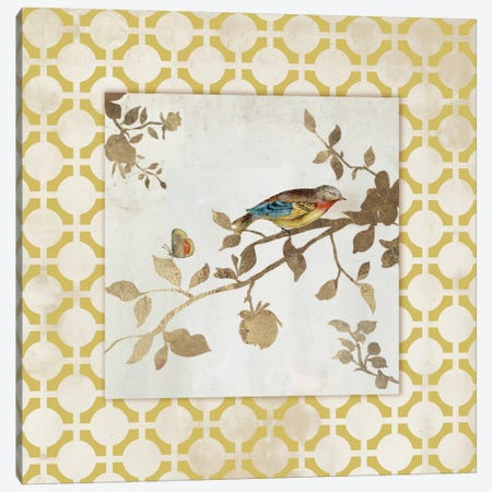 Audubon Tile I Canvas Print #ASJ11} by Asia Jensen Canvas Art Print