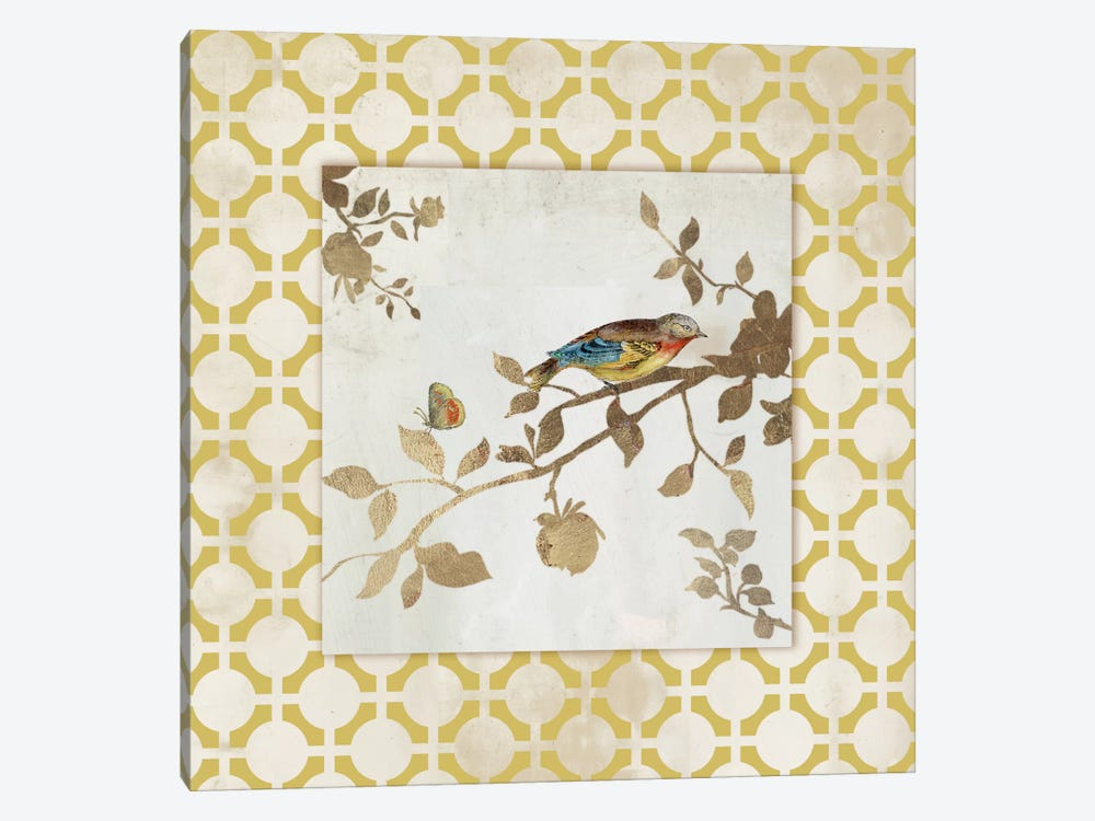 Audubon Tile I by Asia Jensen 1-piece Canvas Wall Art