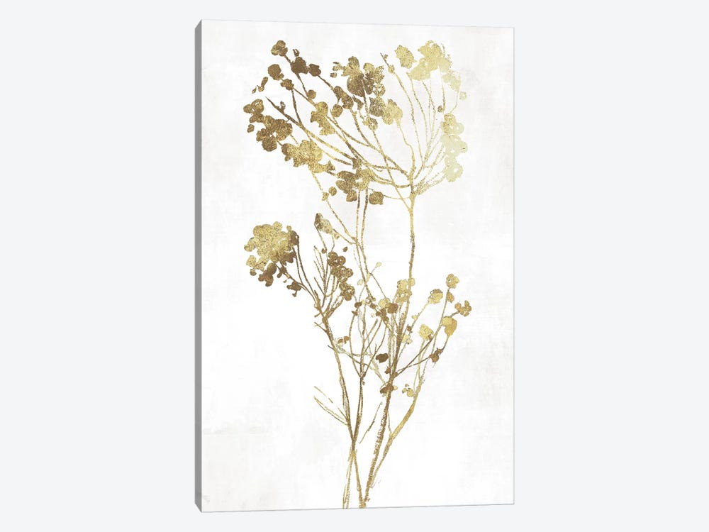 Gold Botanical II by Asia Jensen 1-piece Canvas Print