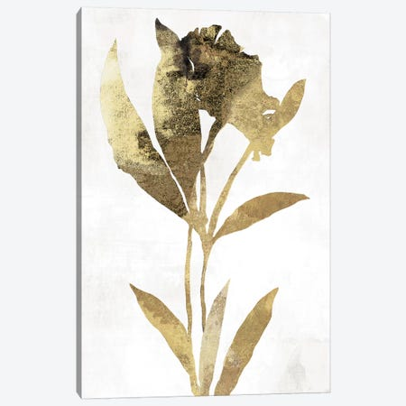 Gold Botanical III Canvas Print #ASJ122} by Asia Jensen Canvas Art Print