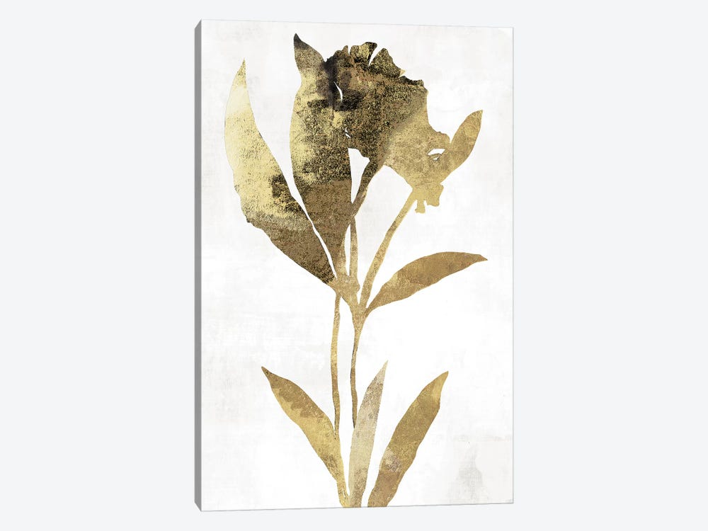 Gold Botanical III by Asia Jensen 1-piece Canvas Wall Art