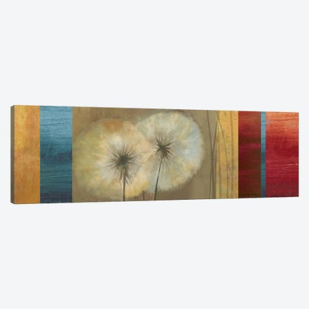 Golden Dandelions Canvas Print #ASJ124} by Asia Jensen Canvas Art