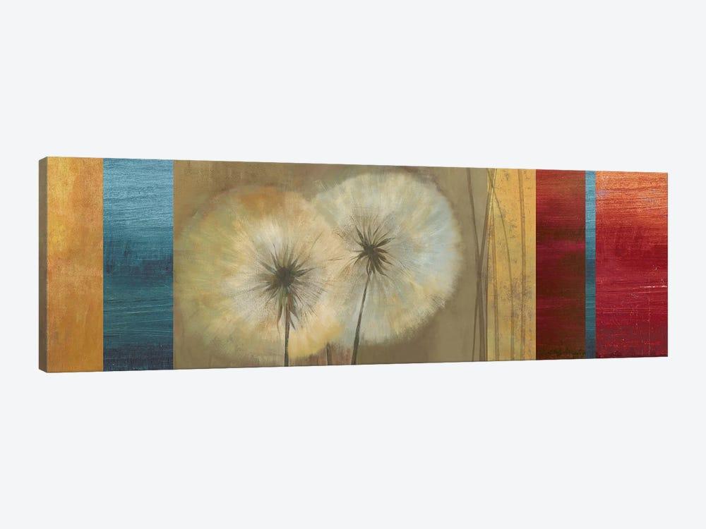 Golden Dandelions by Asia Jensen 1-piece Canvas Wall Art