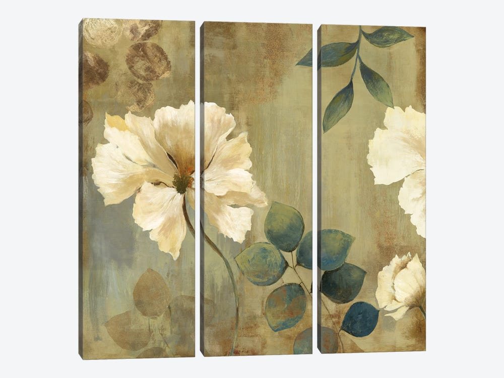 Golden Space I by Asia Jensen 3-piece Canvas Art
