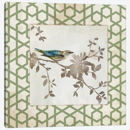 Audubon Tile II Canvas Print #ASJ12} by Asia Jensen Canvas Print