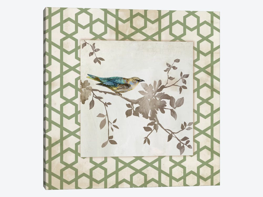 Audubon Tile II by Asia Jensen 1-piece Canvas Art Print