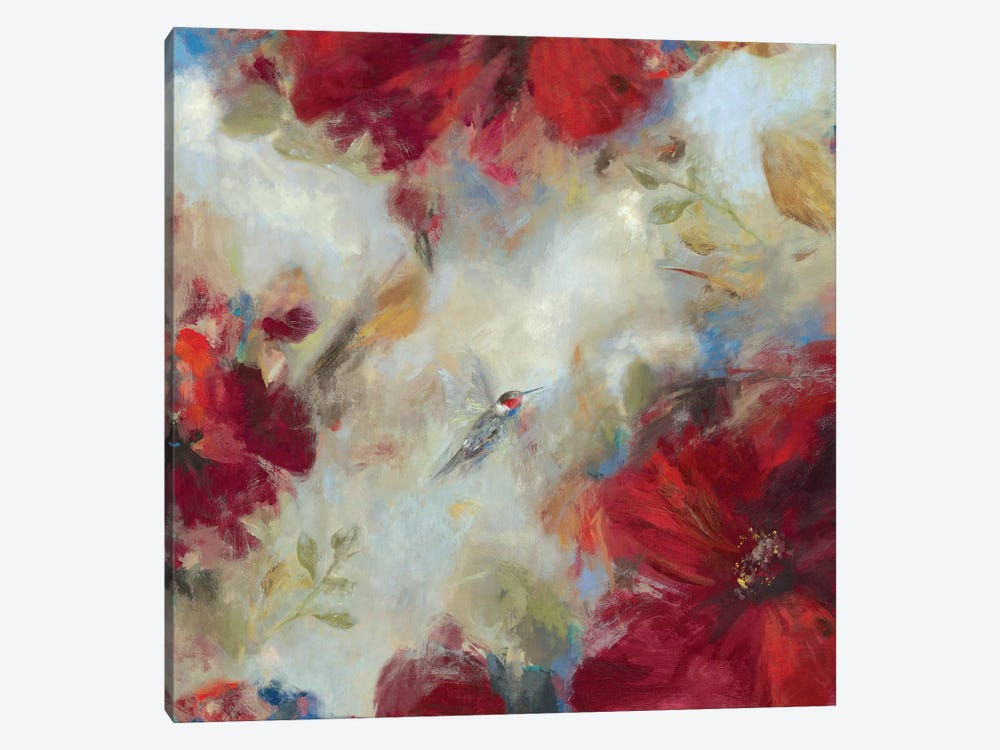 Hummingbird I by Asia Jensen 1-piece Canvas Print