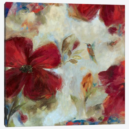 Hummingbird II Canvas Print #ASJ133} by Asia Jensen Canvas Art