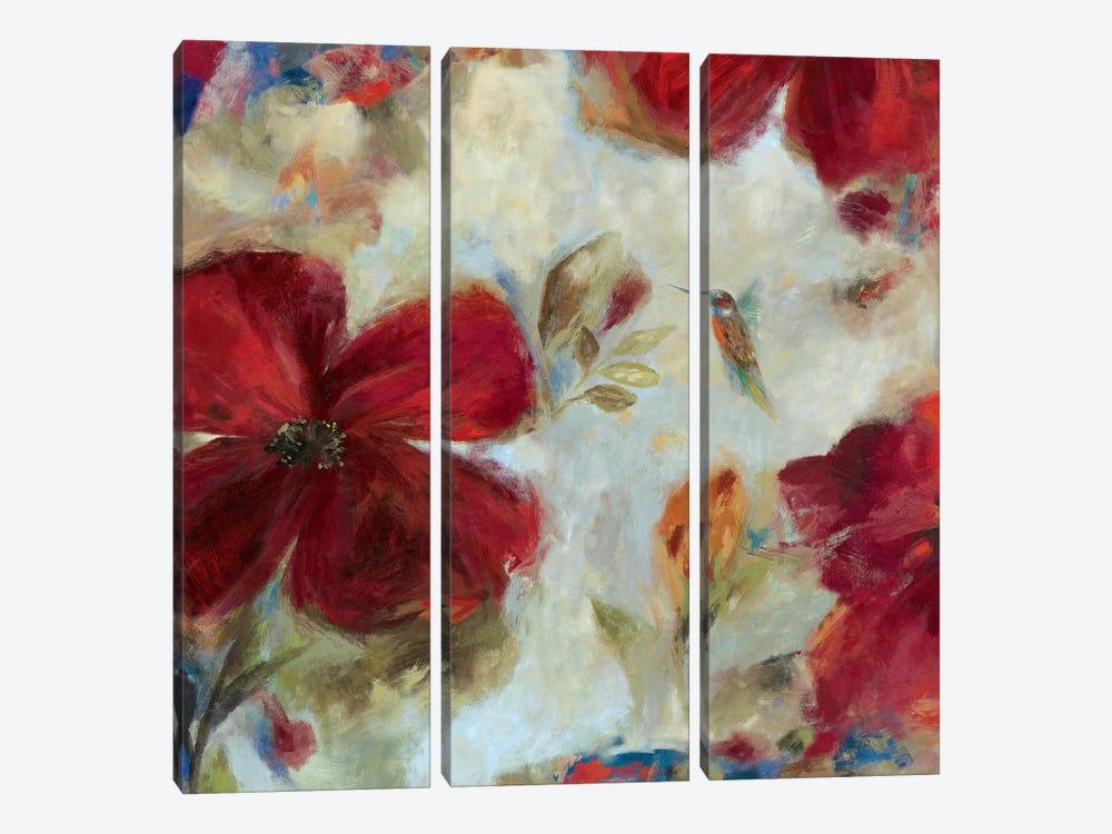 Hummingbird II by Asia Jensen 3-piece Canvas Art