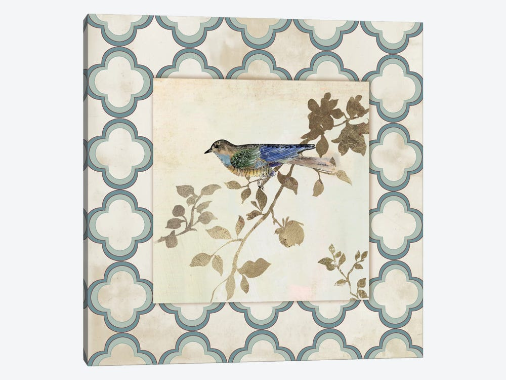 Audubon Tile III by Asia Jensen 1-piece Canvas Artwork