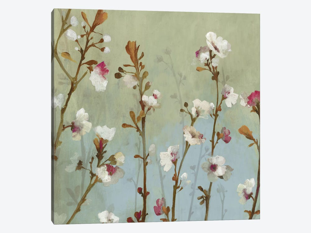 In The Wind, Square by Asia Jensen 1-piece Canvas Wall Art