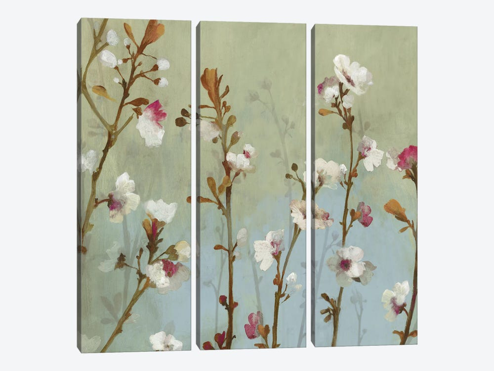 In The Wind, Square by Asia Jensen 3-piece Canvas Art