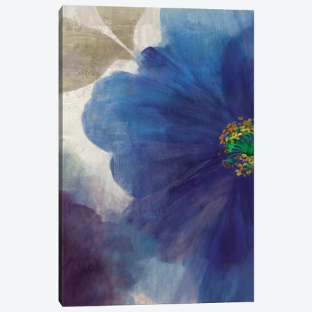 Indigo Dreams II Canvas Print #ASJ144} by Asia Jensen Canvas Art