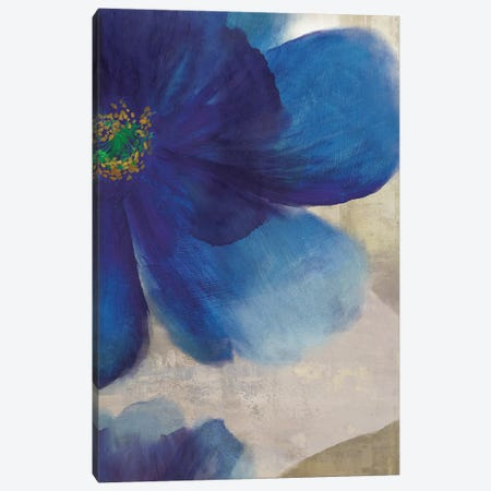Indigo Dreams IV Canvas Print #ASJ146} by Asia Jensen Canvas Art