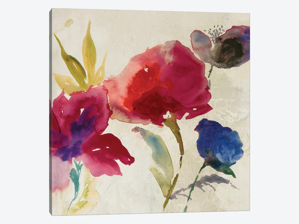 Inflorescence II by Asia Jensen 1-piece Canvas Artwork