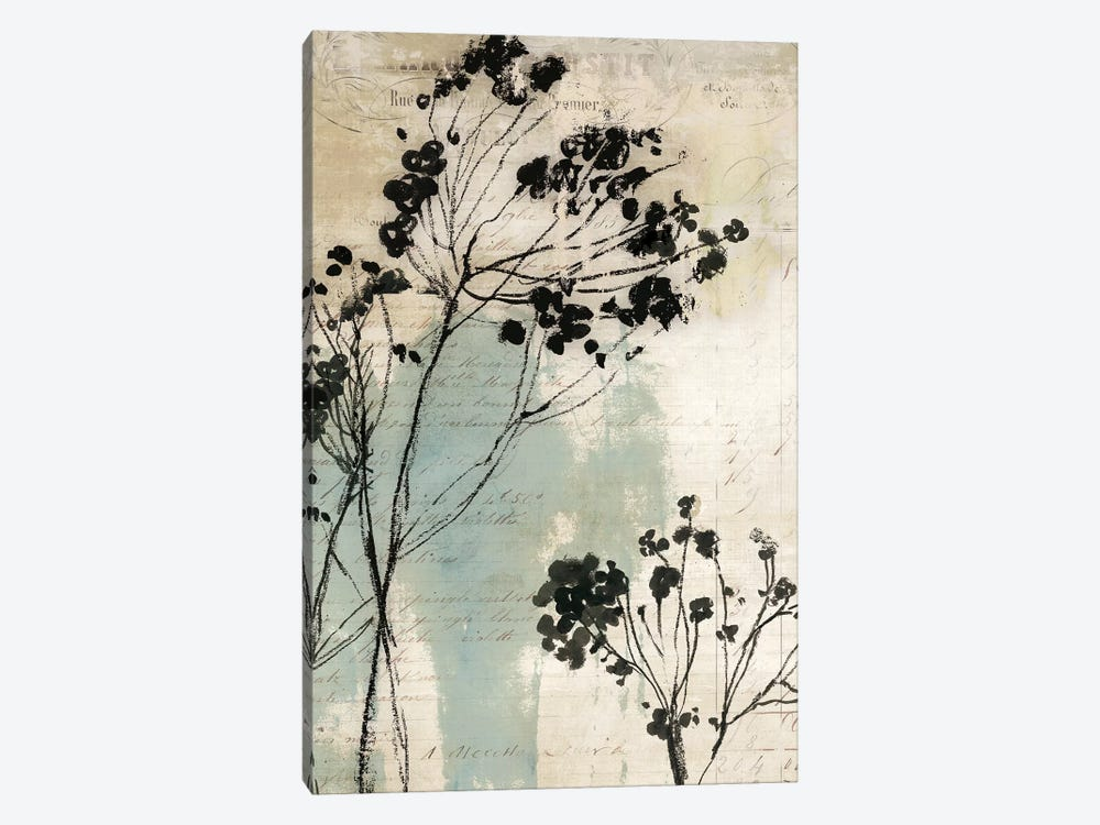 Inky Floral I by Asia Jensen 1-piece Canvas Art Print