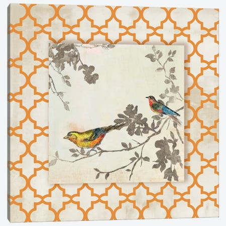 Audubon Tile IV Canvas Print #ASJ14} by Asia Jensen Canvas Wall Art