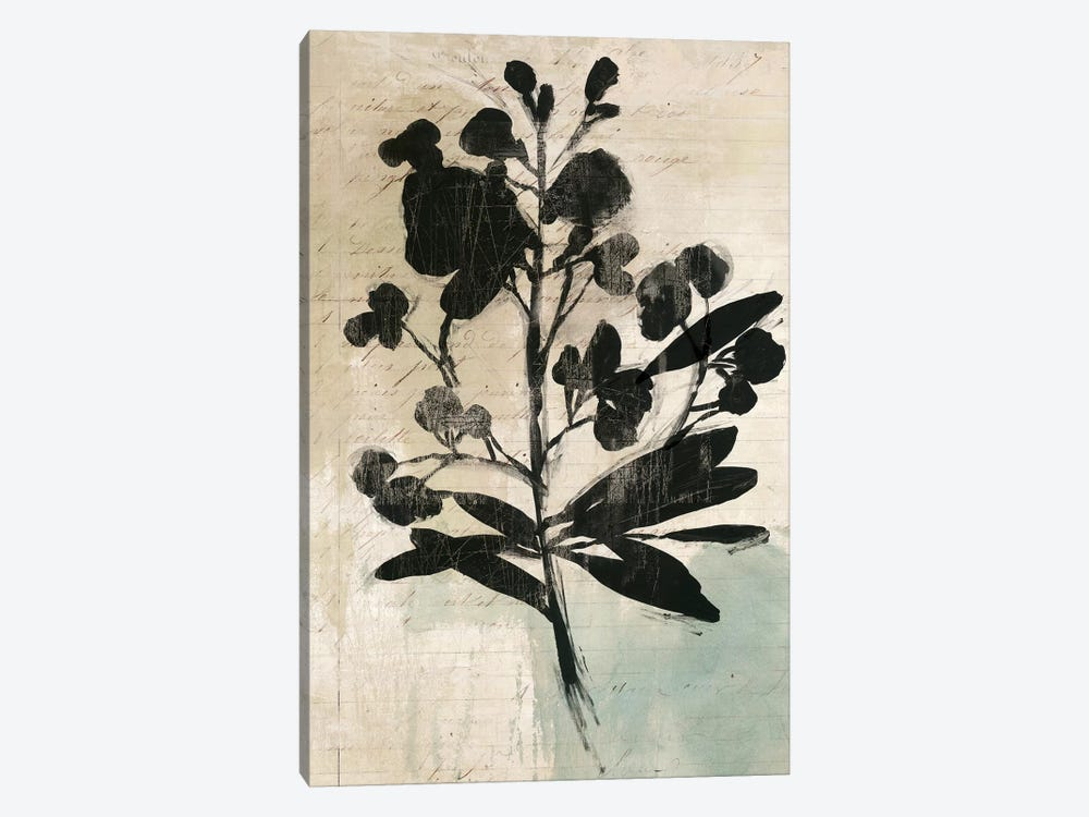 Inky Floral III by Asia Jensen 1-piece Canvas Art