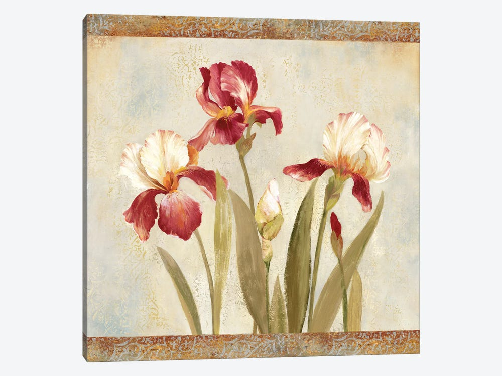 Iris Tapestry II 1-piece Canvas Artwork