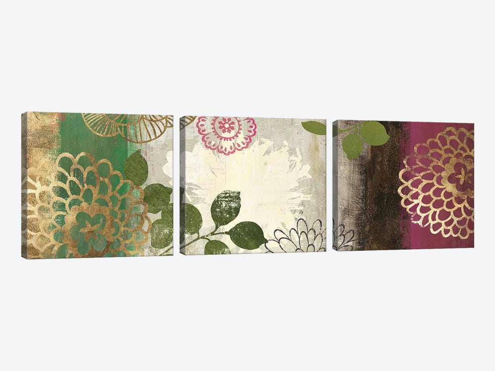 Jacquard I by Asia Jensen 3-piece Canvas Artwork