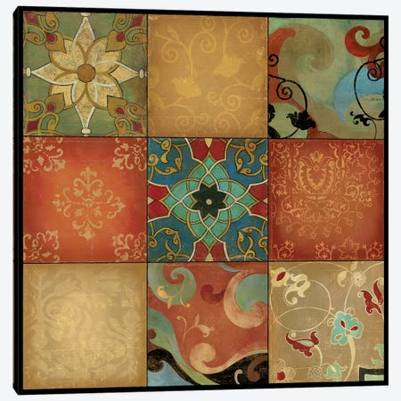 Kaleidoscope Canvas Print #ASJ157} by Asia Jensen Canvas Art Print