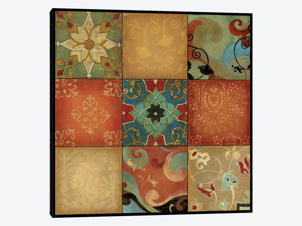 Kaleidoscope by Asia Jensen 1-piece Canvas Artwork