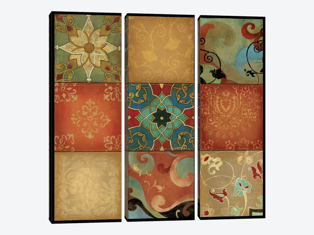 Kaleidoscope by Asia Jensen 3-piece Canvas Art