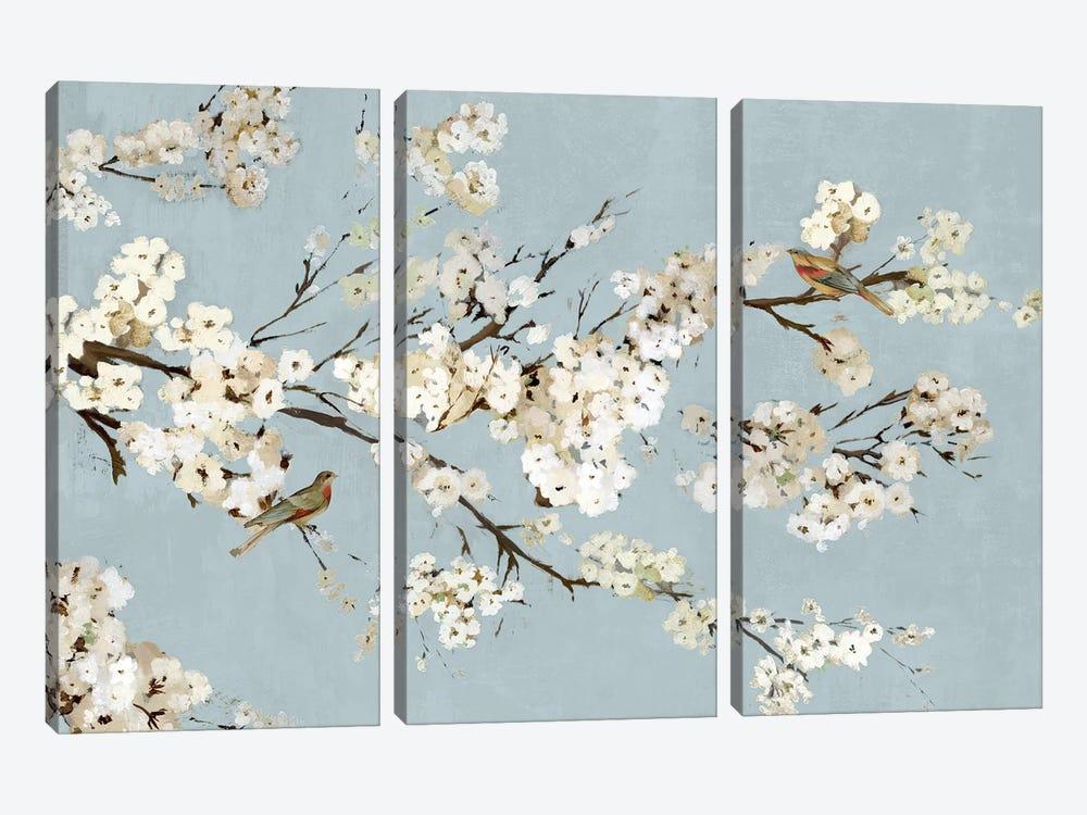 Kimono With Birds I by Asia Jensen 3-piece Canvas Wall Art
